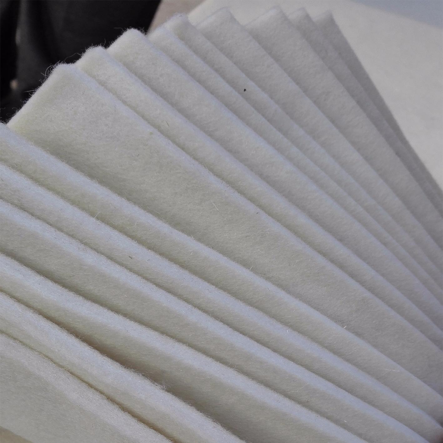 XINGCHEN thảm lông Cung cấp độ dày 0,5-50mm Chất liệu nỉ trắng thân thiện với môi trường tự nhiên Ch