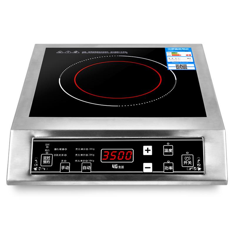 4G SHENGHUO Bếp từ, Bếp hồng ngoại, Bếp ga Bếp điện từ cảm ứng 3500 watt công suất cao nồi inox nút