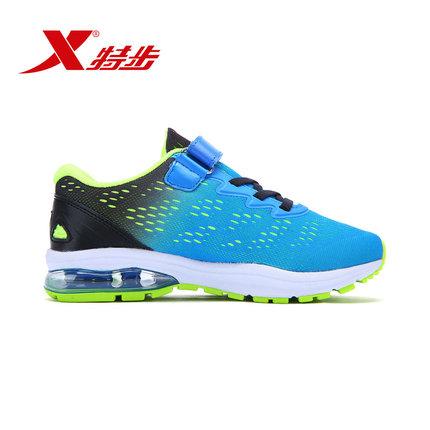 XTEP Giày thể thao cho trẻ em chất liệu vải mềm mại, thoáng khí