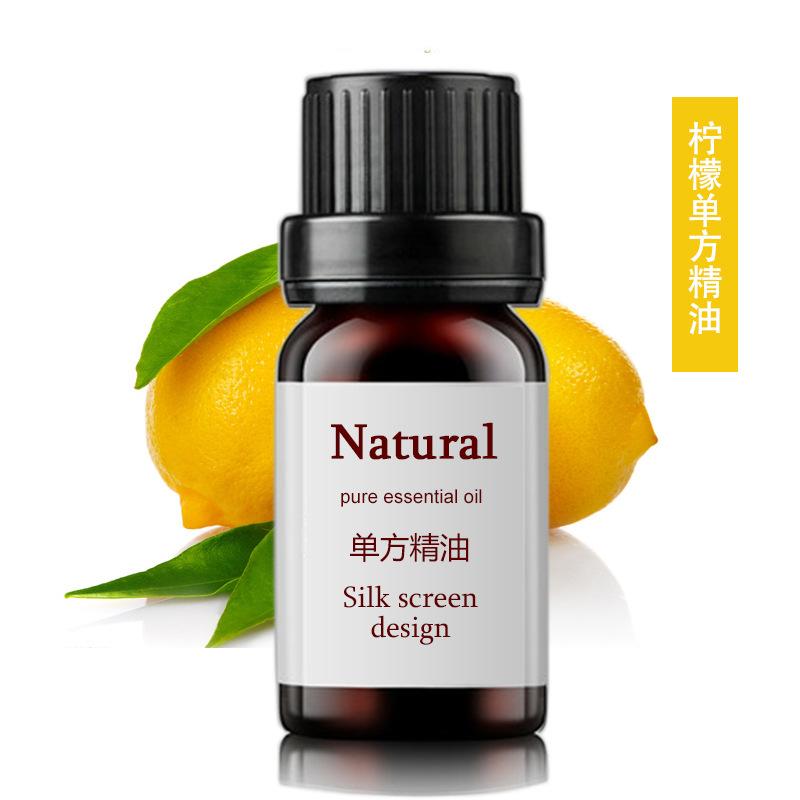 HYFD NLSX dầu thực vật Lemon Single Essential Oil OEM10ml Thực vật đơn phương Tinh dầu tái tạo làm s