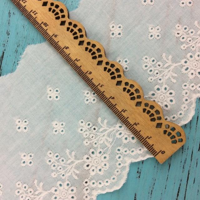 XUNJING ren viền Chuyên nghiệp tùy chỉnh đơn phương dệt vải bông trắng ren Xuất xưởng giá phụ kiện q