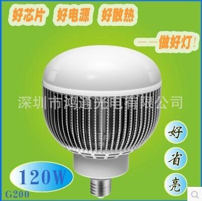 Bóng đèn LED Đèn pha dẫn bóng khổng lồ bóng đèn pha công suất nhà máy 200W dẫn chiếu sáng tiết kiệm