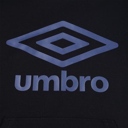 Áo Hoodie xám trùm đầu Umbro form rộng, chất lượng