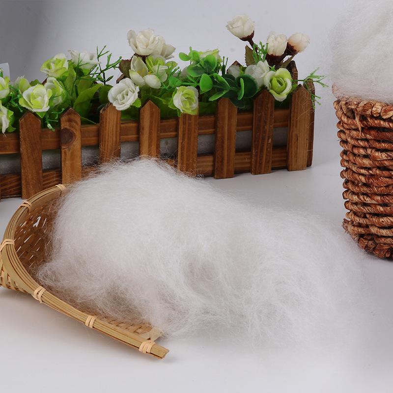 NZMJ Vật liệu lót may mặc Bông ba chiều làm bằng cotton Bông đàn hồi cao 7d Bông ngọc trai Hạt bông