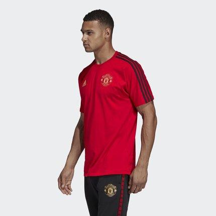 Adidas Áo thun Adidas chính thức MUFC CNY GR TEE nam Manchester United Áo phông ngắn tay bóng đá năm