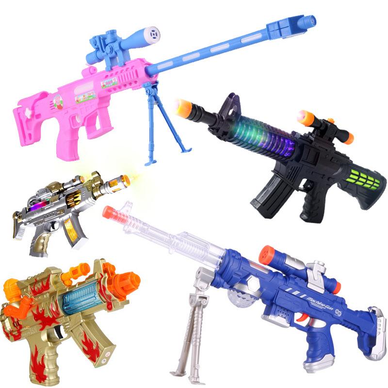 Đồ chơi súng mô phỏng , súng nhựa trẻ em có âm nhạc và đèn