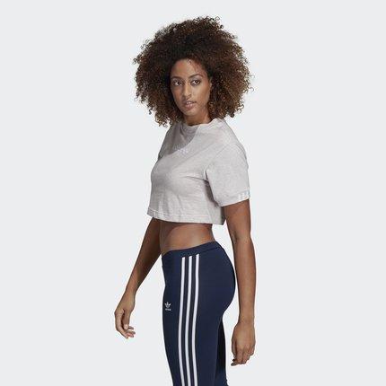 Adidas  Áo thun Adidas chính thức Adidas clover Coeeze CR TEE áo sơ mi ngắn tay nữ DU2341
