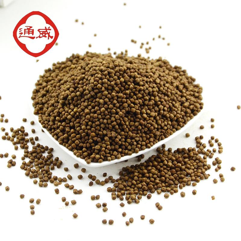 Tongwei Thức ăn cho cá 155 viên thuốc phồng thức ăn mực ống cá trắm cá nổi hạt màu vàng tự chế cơ sở