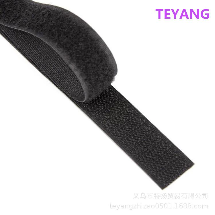 BAIHE Khoá dán [Băng Velcro hỗn hợp] Quần áo màn hình với polyester không dính keo tự dán thông thườ