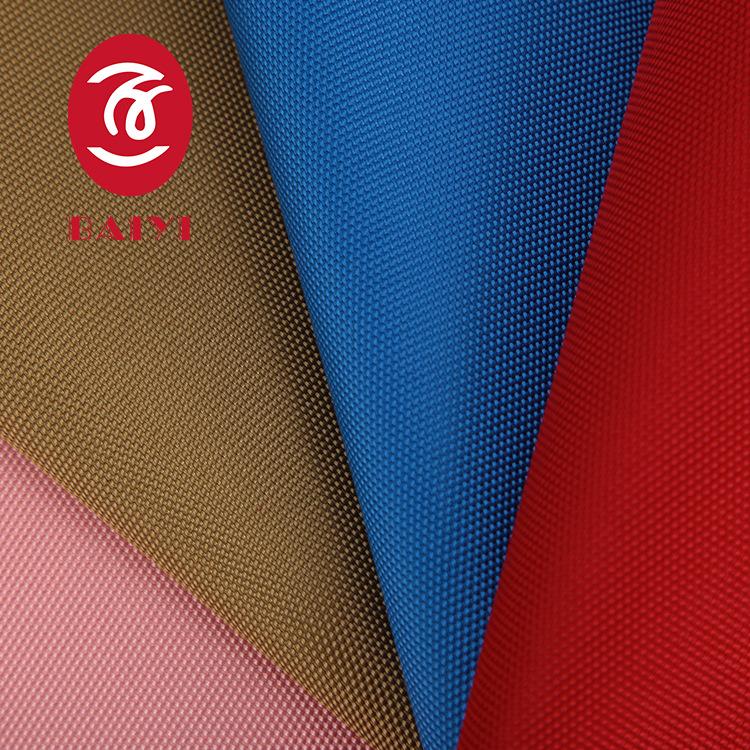 KAILING Vải Polyester 2018 nhà máy trực tiếp 1200D cổ điển hồ bơi polyester dày PU vải Oxford đeo ba