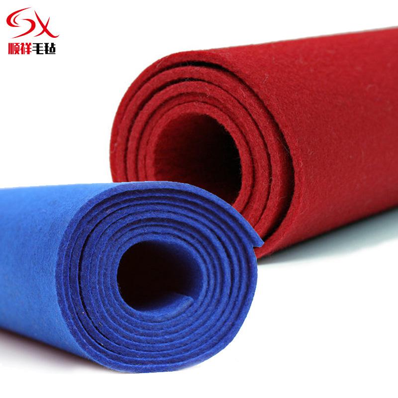SHUNXIANG thảm lông Handmade DIY dính đánh bóng len màu hóa chất sợi vải nỉ Hấp thụ dầu không dệt le