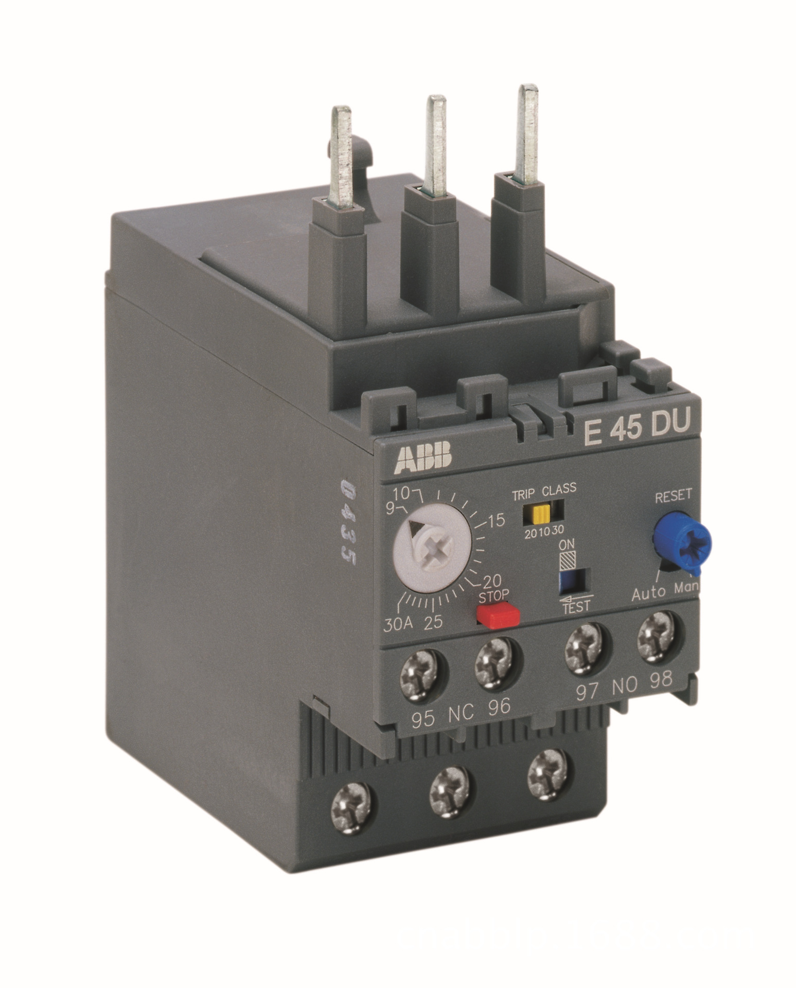Rơ le nhiệt điện tử bảo vệ quá tải ABB - E45DU-30A