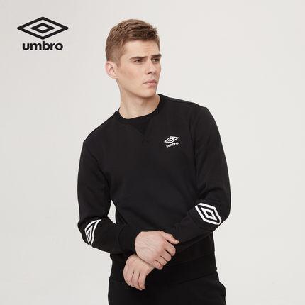 Áo thun đen Umbro tay dài thời trang thu đông 2019