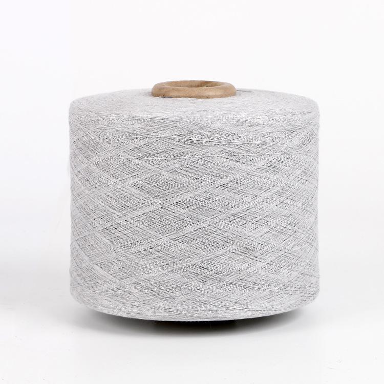 JINXUN Sợi bông Các nhà sản xuất sản xuất sợi bán chải kỹ chất lượng cao, trắng và xám, 8-28 miếng,