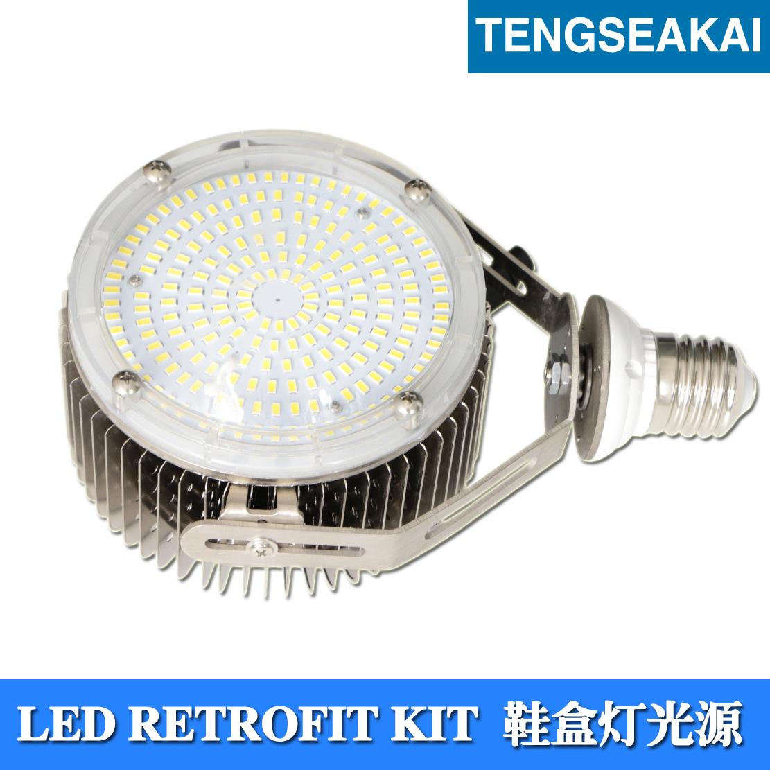 Bóng đèn LED bắp ngô 360 độ điều chỉnh đèn chiếu sáng LED bên cạnh Ngô 120W 150W 180W 200W trạm xăng