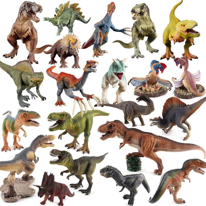 Đồ chơi  mô hình khủng long Tyrannosaurus Rex mô phỏng Raptor Dragon Kin