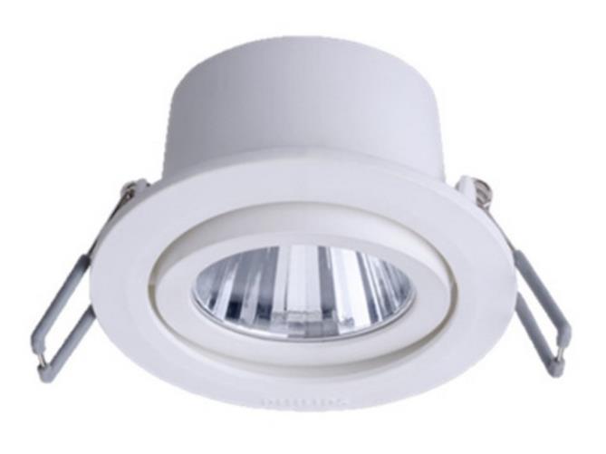 Bóng đen LED âm trần Philips. dẫn 3W5W7 ngói dẫn bệnh đậu mùa
