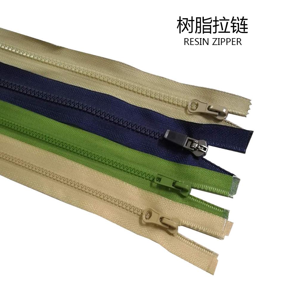 TM Dây kéo nhựa 3 thứ 5 8 dây kéo nhựa đóng đuôi tùy chỉnh nhà máy trực tiếp quần áo phụ kiện hành l