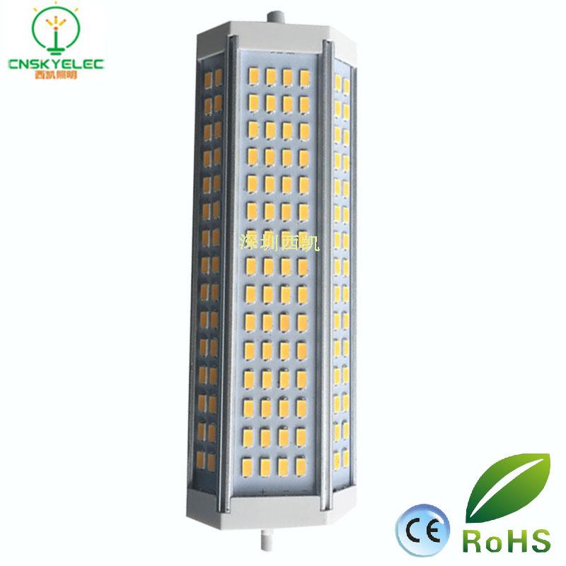 Bóng đèn cắm ngang 50W chỉnh ánh sáng đèn điện R7S lớn cắm ngang 50W cao độ 5630SMD chính ánh sáng t