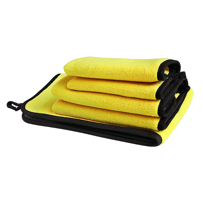 Phụ kiện xe ô tô : Khăn lau Xe thấm nước 2 Mặt  , bề mặt dày và mềm mại .