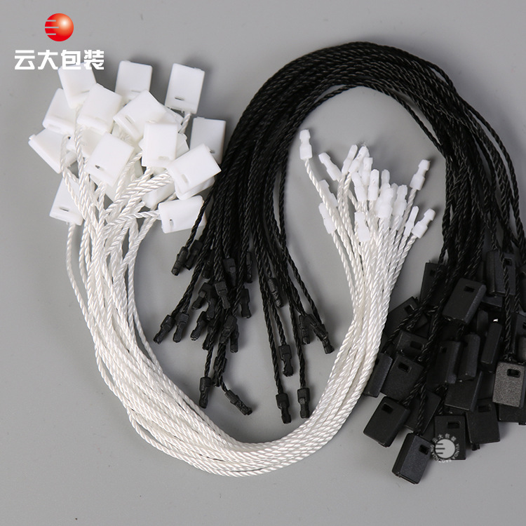 YUNDA Chuỗi tag , Tag logo Nhà máy trực tiếp nhựa đôi chèn hạt chung tùy chỉnh hạt polyester treo hạ