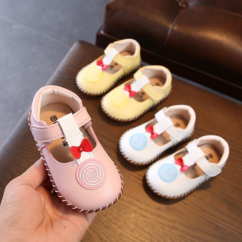 Giày Búp Bê kiểu công chúa dễ thương cho bé gái .