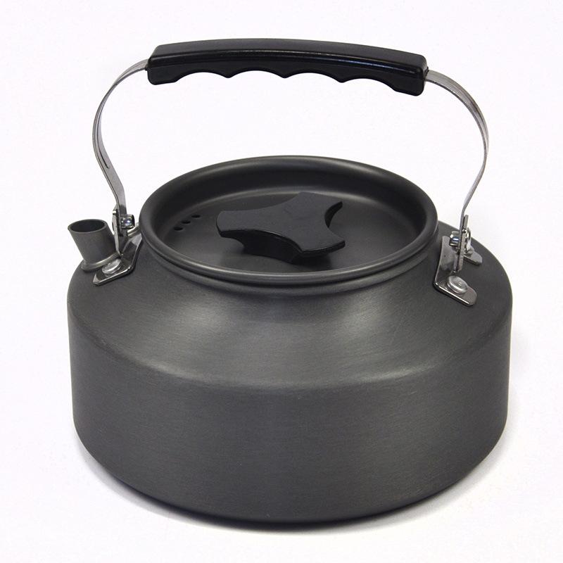 Đồ dùng dã ngoại 260g ấm đun nước ngoài trời 1.1L ấm trà cà phê ấm đun nước tự lái dã ngoại cắm trại