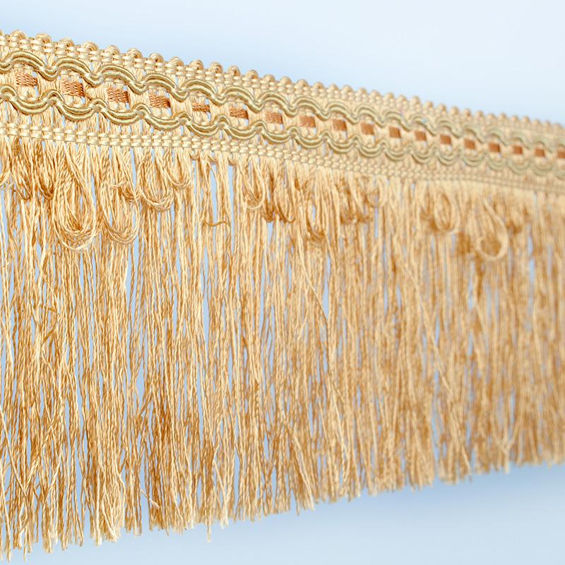 AYA Dây cột rèm Nhà máy trực tiếp rèm tua polyester polyester lụa ruy băng sườn phụ kiện trang trí r