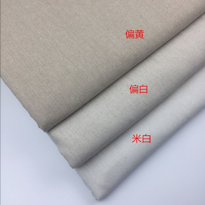 vải mộc Nhà máy vải lanh trực tiếp, vải lanh in vải lanh, hành lý thủ công, nhuộm mẫu