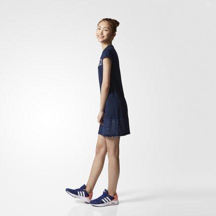 Adidas Váy Adidas chính thức Adidas neo MSH PNL DRSS trang phục nữ CD1240 CD1239