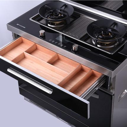 Pusen Bếp từ, Bếp hồng ngoại, Bếp ga Pusen tích hợp bếp Yuesheng X9 hút hút tự động làm sạch bếp khó