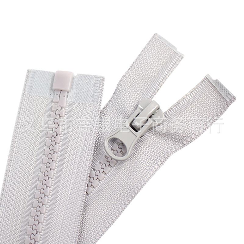 JY Dây kéo nhựa Số 5 nhựa dây kéo quần áo áo khoác xuống áo khoác mở đuôi không kết thúc răng nhựa n
