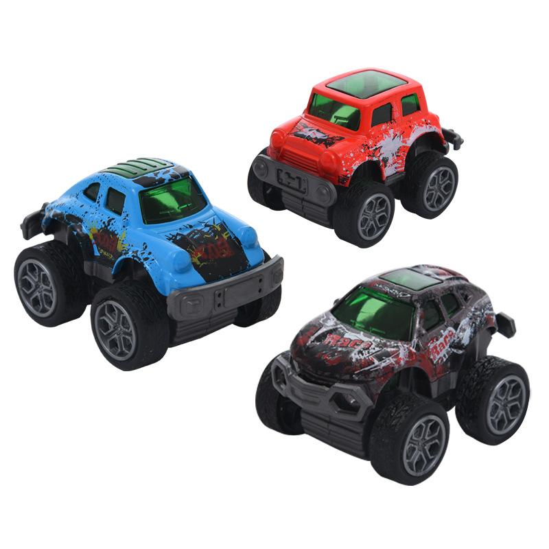 SHUANGCAI Mô hình xe Mô phỏng xe mini hợp kim mô hình kéo trở lại xe thể thao cậu bé q phiên bản hợp
