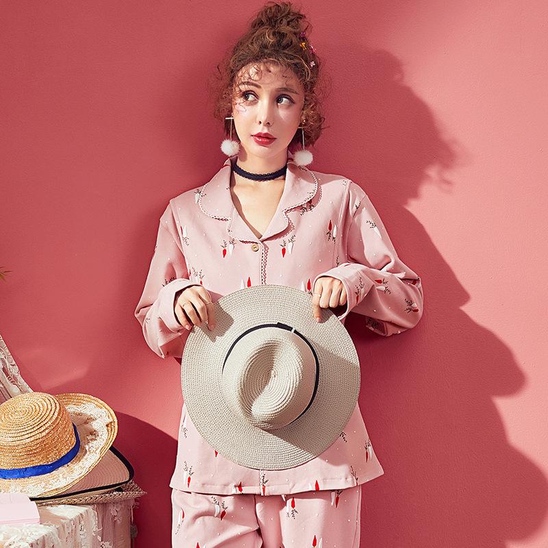 YIXUAN Trang phục trong tháng (sau sinh) Mùa xuân và mùa thu cotton mới quần áo phụ nữ mỏng phần đồ