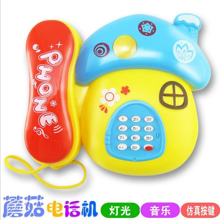 Máy học tập Giáo dục trẻ em giáo dục sớm đồ chơi điện thoại cho trẻ sơ sinh khai sáng phim hoạt hình