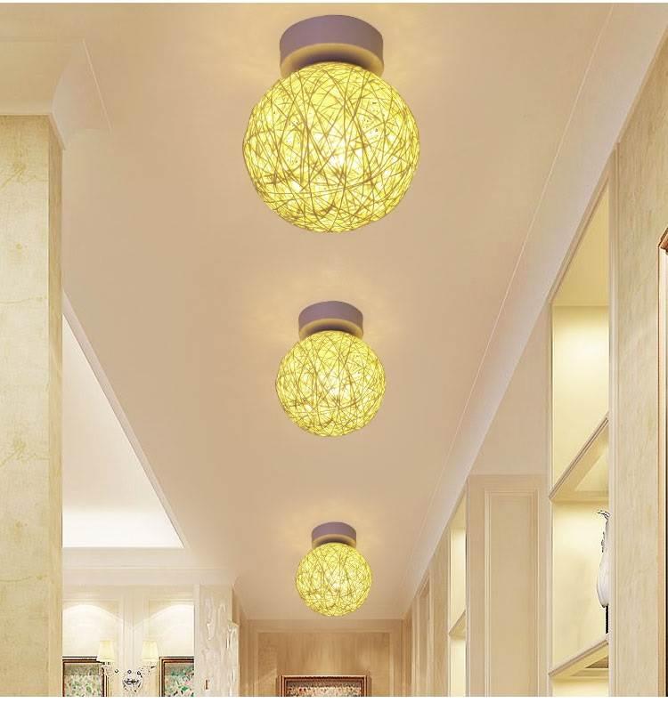 Đèn âm trần bộ  Phim hoạt hình đèn hành lang chung hành lang phụ kiện đèn Suite hút đèn hướng dẫn ki
