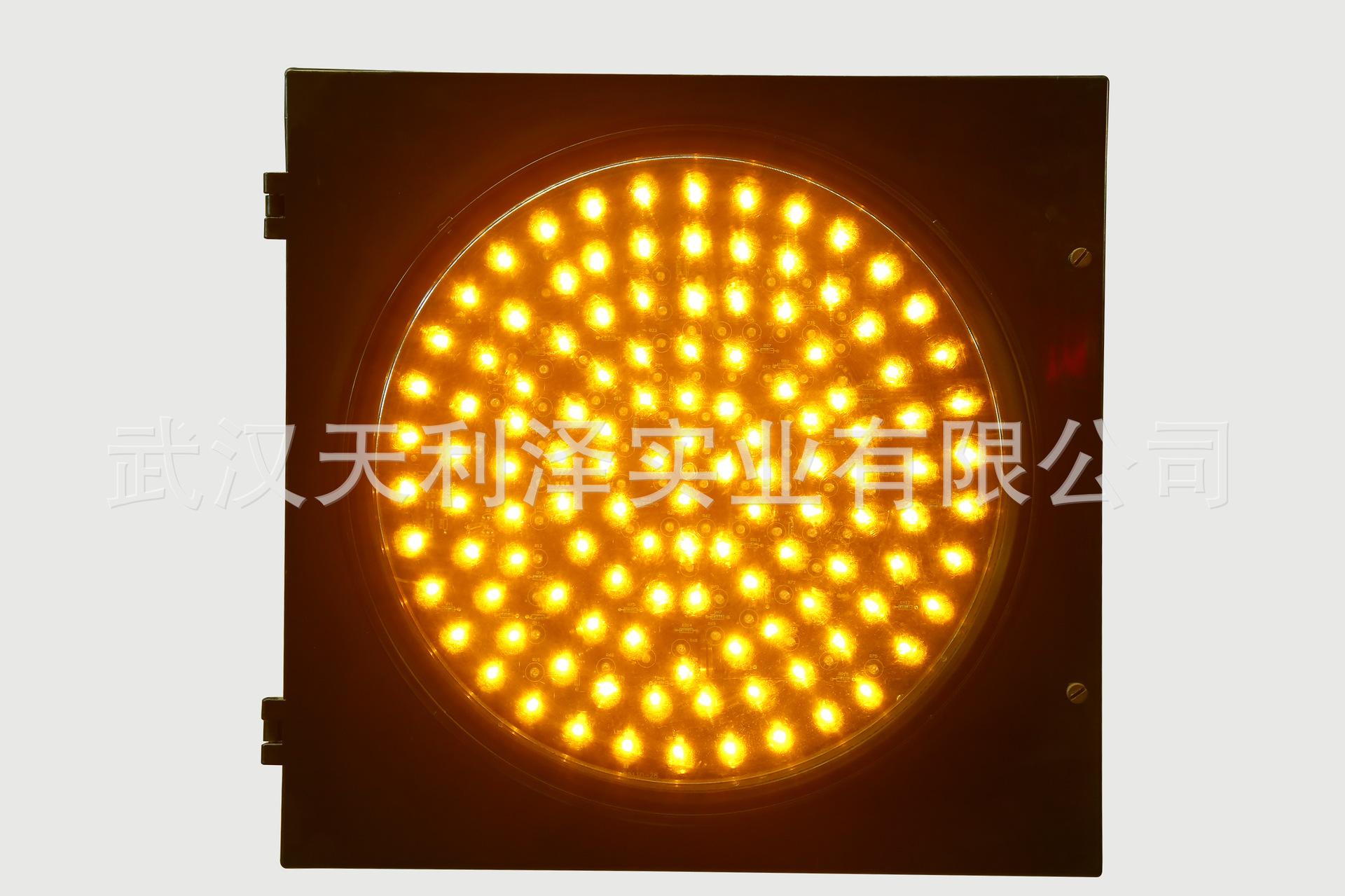 Đèn giao thông năng lượng Mặt trời màu vàng SG400-B