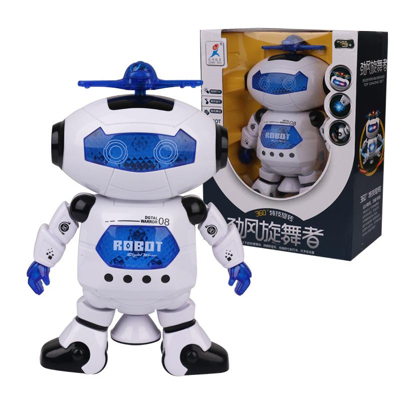 LEZHOU Rôbôt / Người máy Robot đồ chơi nhảy thông minh robot điện không gian robot nhảy đồ chơi robo