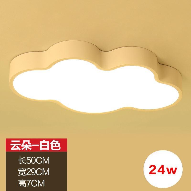 Đèn âm trần bộ Phim hoạt hình trang trí hình học hút đèn hướng dẫn công chúa Suite màu ấm trần nhà p