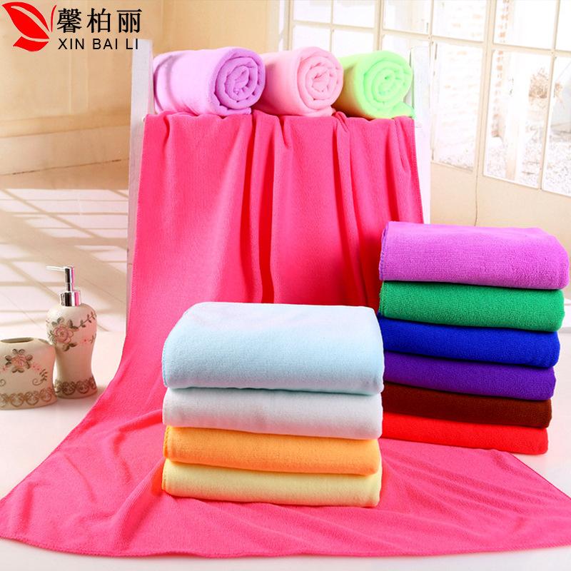 XINBAILI Khăn tắm Nhà máy sản xuất khăn tắm sợi nhỏ trực tiếp Hàn Quốc ba giây Khăn khô nhanh Khăn t