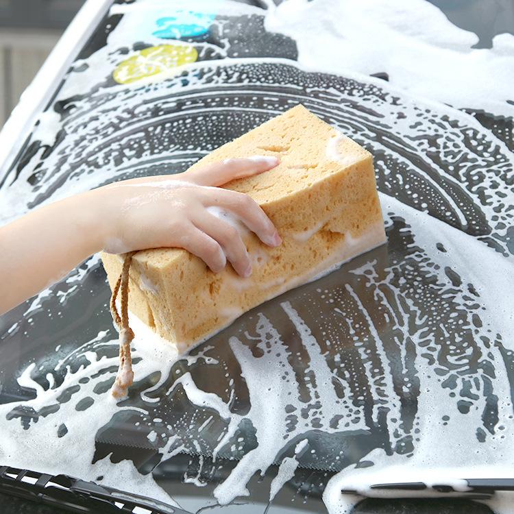 NAHE Mút Tổ ong rửa xe bọt biển San hô rong biển rửa xe cung cấp làm sạch xe làm đẹp sáp nhà máy bọt