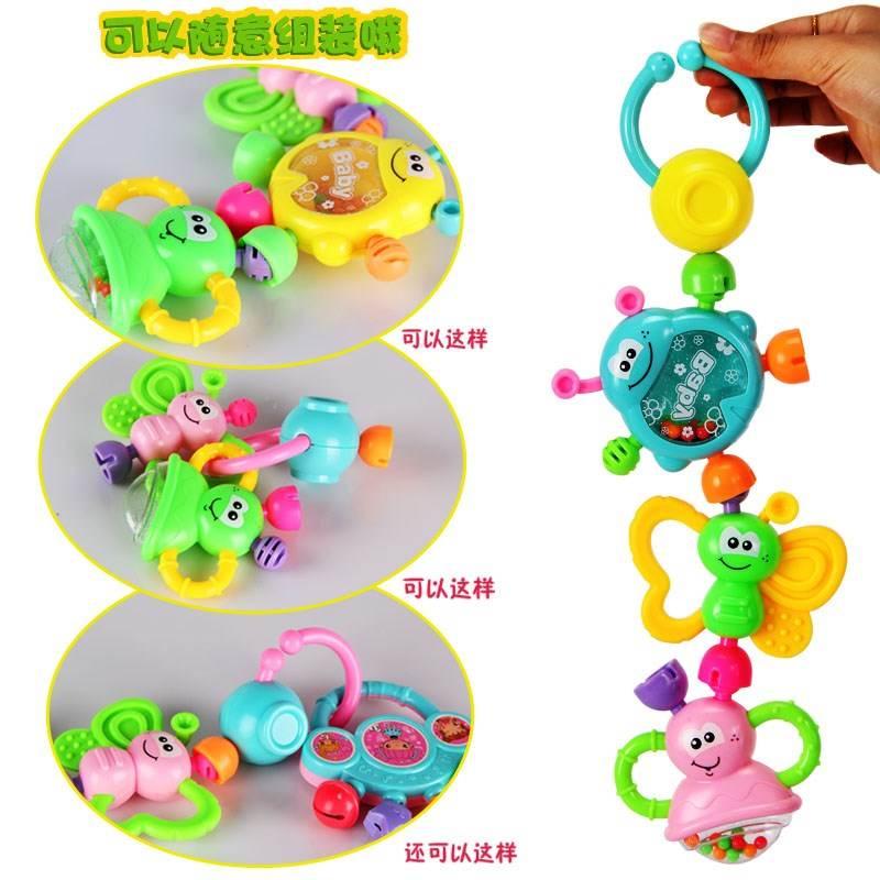 Đồ chơi cầm tay nhiều màu sắc cho Trẻ sơ sinh .