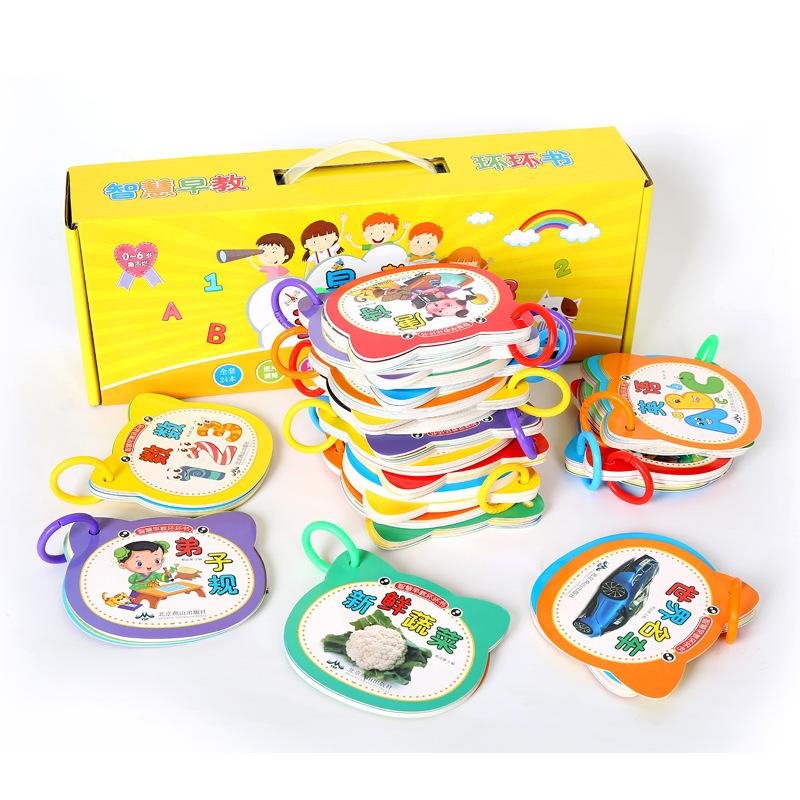 bộ 24 cuốn sách hình giúp bé Phát triển khả năng Tầm nhìn .