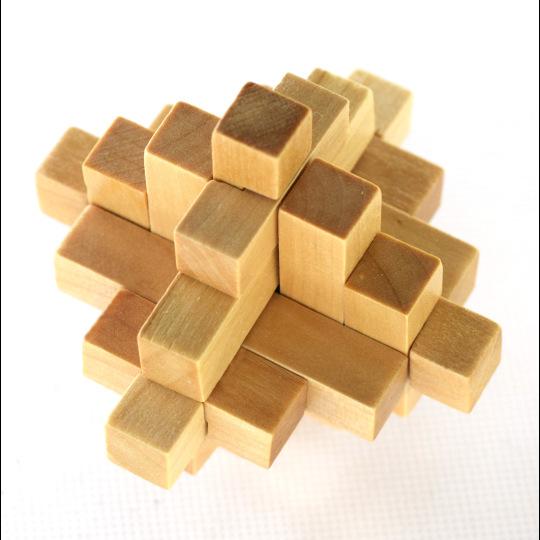 YONGSHENG Đồ chơi bằng gỗ Kong Ming khóa mười lăm gian hàng đồ chơi bằng gỗ nhỏ bán buôn và bán lẻ n