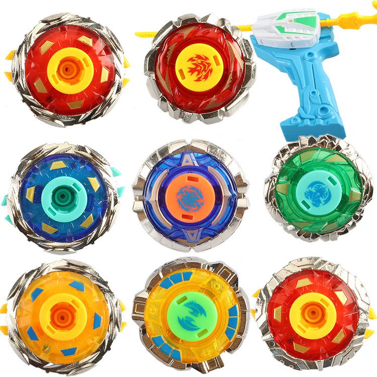 BLUEBEE Bông vụ Battle Alloy Gyro Set Đồ chơi Magic Gyro của trẻ em Battle Battle Boys Sinh nhật Quà