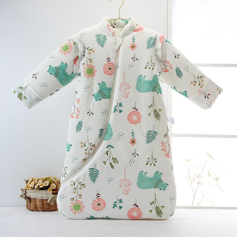 Túi ngủ kiểu tay áo có thể tháo rời dành cho Trẻ Em.