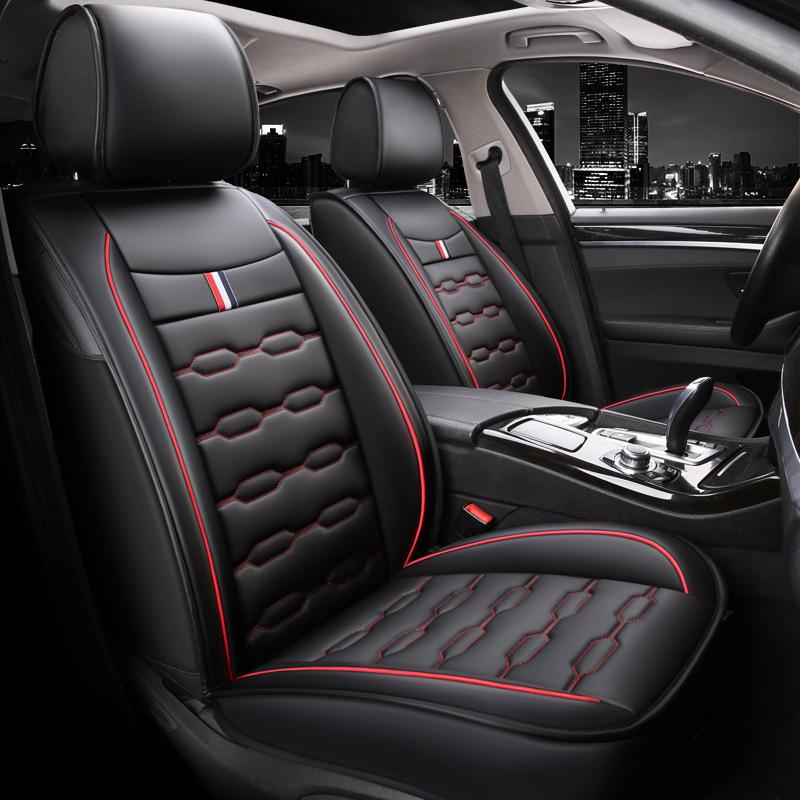 Phụ kiện xe hơi : Đệm da bọc ghế cho xe hơi , đơn giản và sang trọng .