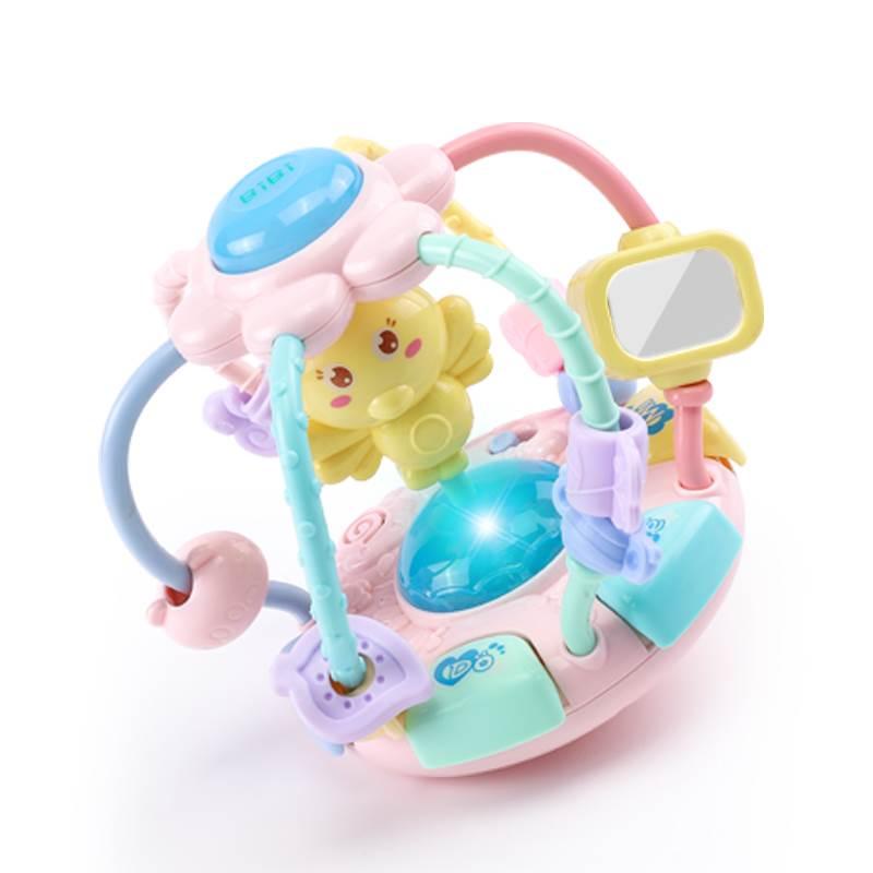 Đồ chơi cầm tay có nhạc cho Trẻ sơ sinh .