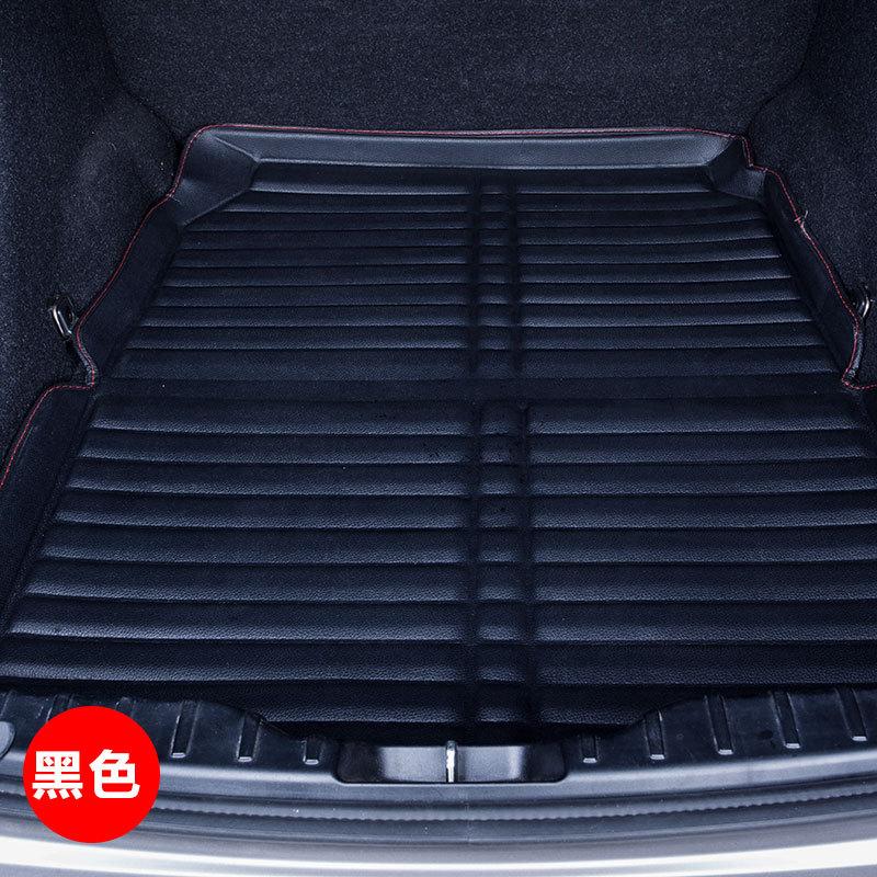 MIAOHUI Đệm băng sau Xe đặc biệt xe da thân cây mat xe hành lý khoang xe phía sau khoang pad pad đuô