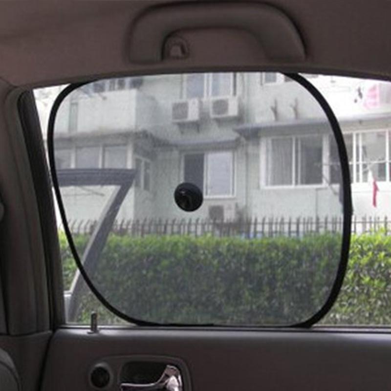 QISHU Màng che nắng Bán buôn lưới bên cửa sổ che nắng Ô tô che nắng Tấm che nắng không chặn đường ng